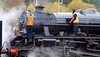 Running Maintenance - Crianlarich Station - 27 October 2012