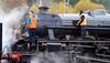 Running Maintenance - Crianlarich Station - 27 October 2012
