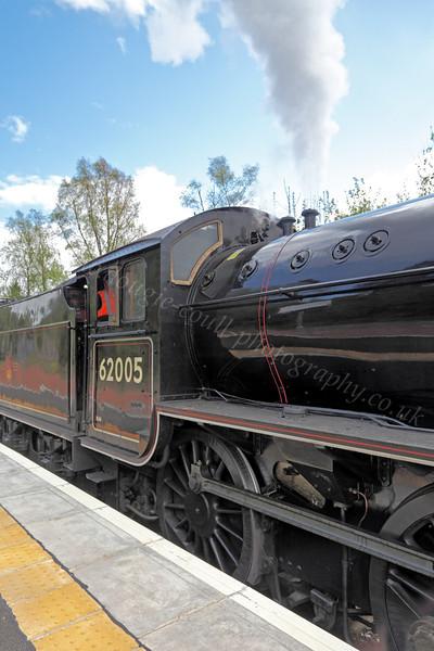 62005 - Helensburgh Station - 12 May 2012
