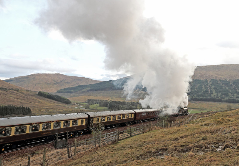 The Great Marquess (61994) - Near Tyndrum - 22 April 2012
