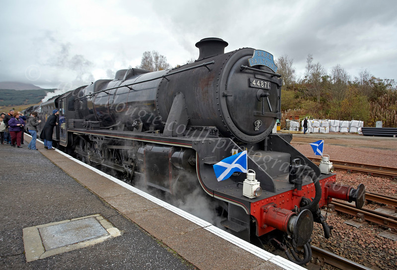 44871 - Crianlarich Station - 27 October 2012