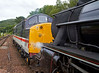 Steam Loco 44871and Diesel Loco 37518 - Garelochhead Station - 3 August 2012