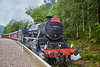 """The Lancashire Fusillier"" (45407) at Tyndrum Upper Station - 4 July 2016"