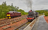 Busy Crianlarich Station - 4 July 2016