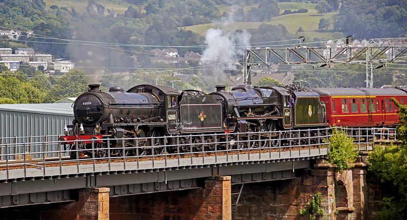 West Highland Line - Dalreoch Viaduct - 12 July 2020
