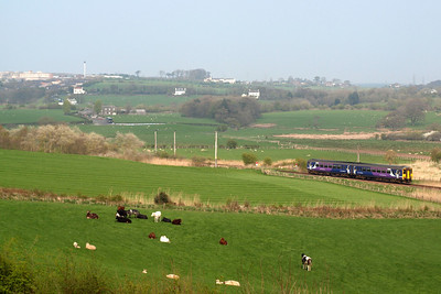 156454 with Whitehaven in the distance. 19/04/11.