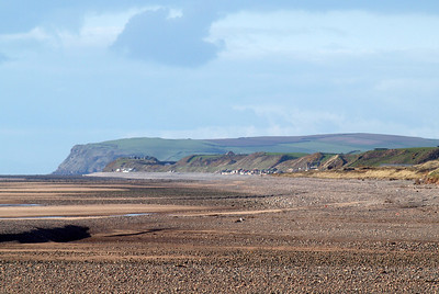 St Bees Head and the Cumbrian coastline from Sellafield, through Braystones and Nethertown, to St Bees, 04/04/12.