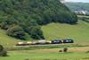 6C46 heads past Linethwaite on its way to Carlisle Kingmoor. 09/07/11.