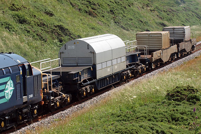 The consist for today's 6C46. 09/07/11.