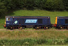 20308 speeds through the lush green St Bees valley. 12/07/11.