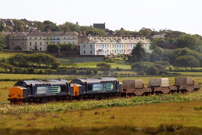 37218 leads 37602 and 6K73 away from St Bees. 07/07/11.