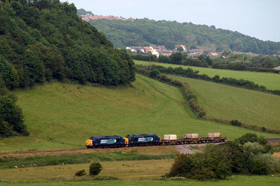 37602 and 37218 with 6C53 flasks. 09/07/11.