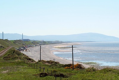 Hazy Black Combe and the Cumbrian Coast, 26/05/12.