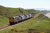 20302, 37259, 37688 Kingmoor TMD and 37612 pass Nethertown with 6C46 Sellafield - Carlisle Kingmoor TMD, 26/05/12.
