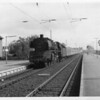 "The second out of three trips with this Pacific that May 68 day - 03.127 arrives into Erkelenz with the 06 36 Soest to Aachen. This 36 mile ""gap""in the electrified network was to be energised two weeks hence."