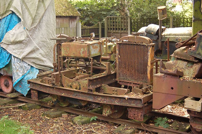 "Another assumption on my part: I think this is No 49 ""Samson"", Hibberd 1887 of 1934) in the sidings."