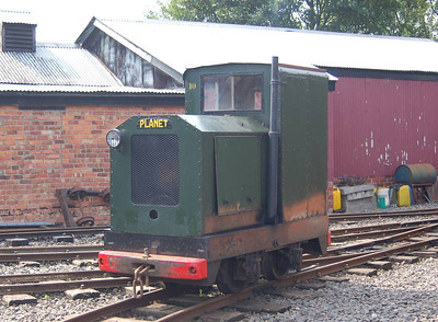 The other diesel loco I saw working on 11th August was No 10 (Hibberd 2555/1942) which was used to shunt some stock.