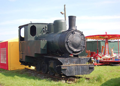 Polish locomotive Chrzanow 3506/1957, currently not in working order.