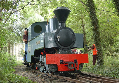 Joffre (Kerr Stuart 2405/1915) departing Delph Station on 11th August 2012.