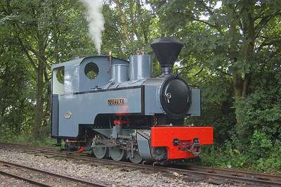 Joffre (Kerr Stuart 2405/1915) in the loop at Delph.