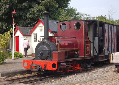 Irish Mail was the oldest locomotive in steam on 11th August, being 109 years old.