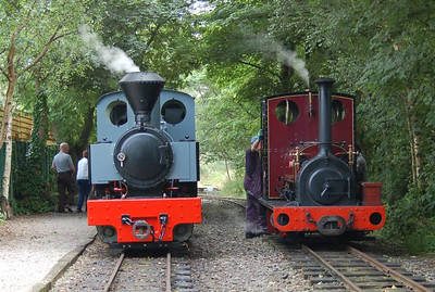 Joffre and Irish Mail at Delph Station, 11th August 2012.