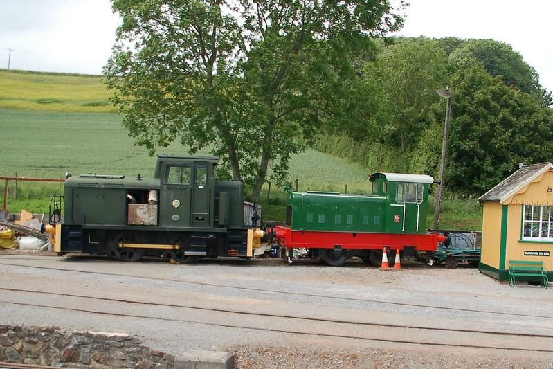 AB 578 & RH 210479 - Washford, West Somerset Railway - 10 June 2017