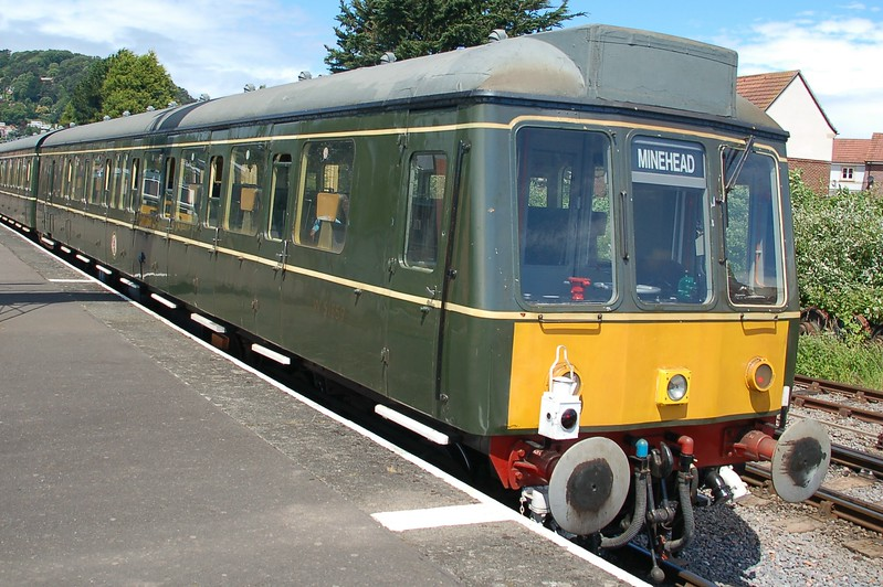 Dmu W51859 - Minehead, West Somerset Railway - 10 June 2017