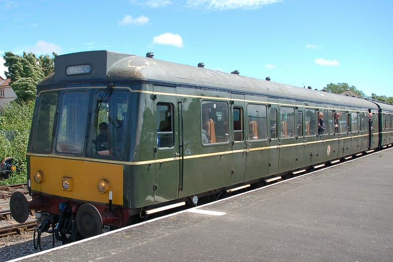 Dmu W51880 - Minehead, West Somerset Railway - 10 June 2017