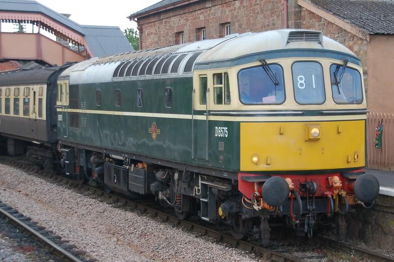 D6575 - Williton, West Somerset Railway - 10 June 2017