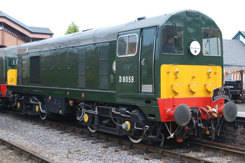D8059 - Williton, West Somerset Railway - 10 June 2017