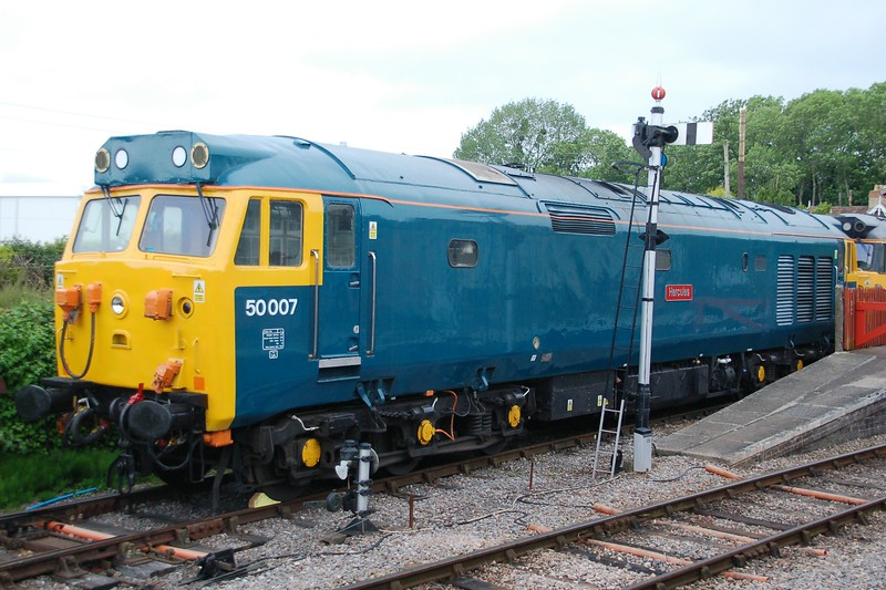 50007 Hurcules - Bishops Lydeard, West Somerset Railway - 10 June 2017