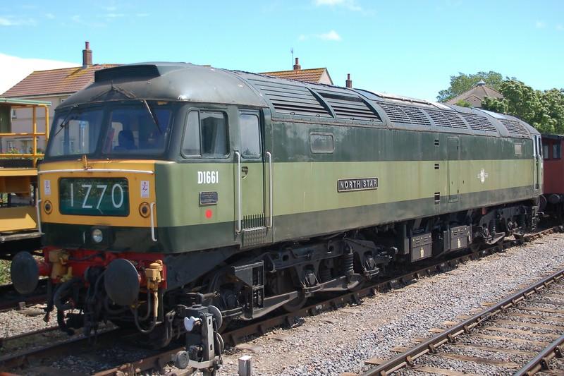 D1661 North Star - Minehead, West Somerset Railway - 10 June 2017