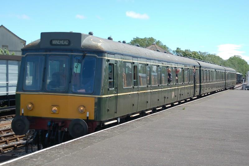 Dmu W51880, W59678 & W51859 - Minehead, West Somerset Railway - 10 June 2017