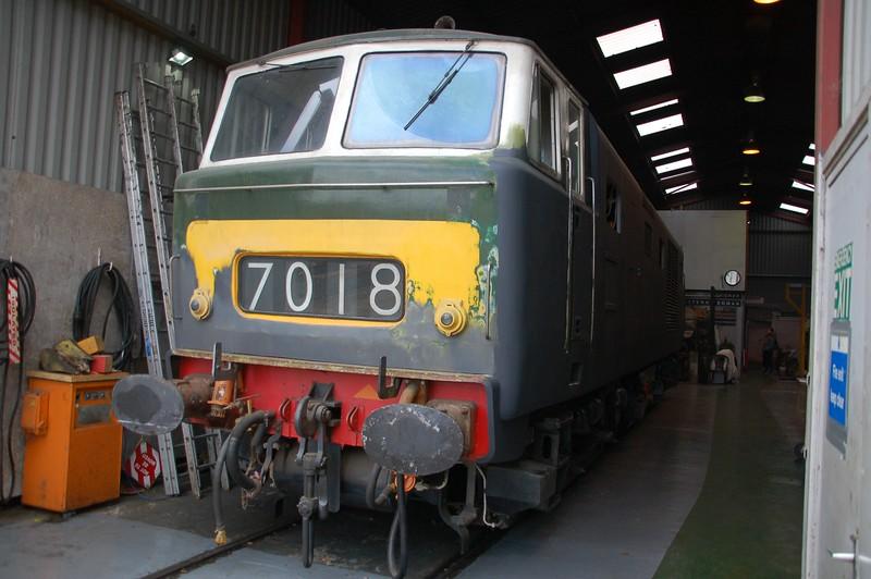 D7018 - Williton, West Somerset Railway - 10 June 2017
