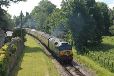 West Somerset Railway 2008
