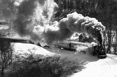 20 x 30 print Western Maryland Scenic Railroad