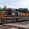 7/25/11<br /> St Denis Marc Station<br /> K110-24<br /> Eastbound<br /> Hoppers<br /> Old Main Line<br /> No. 6351 SD40-2