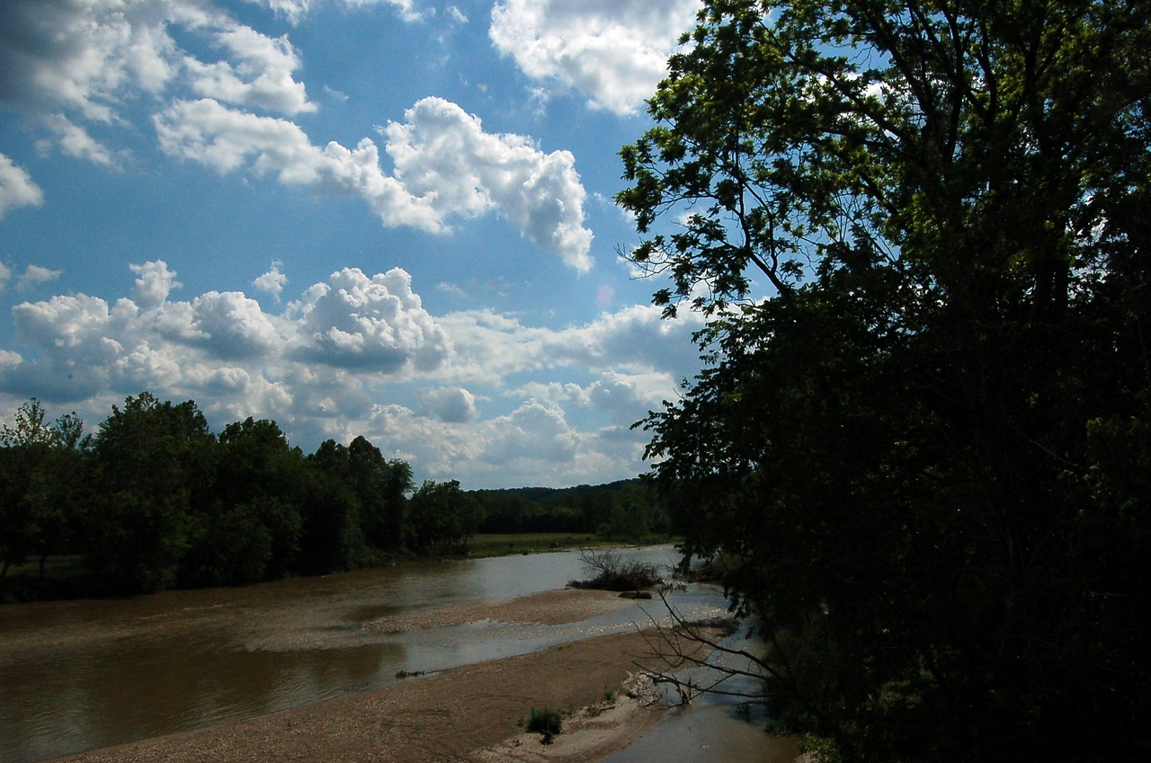 West Fork of the Whitewater River from the Laurel Bridge