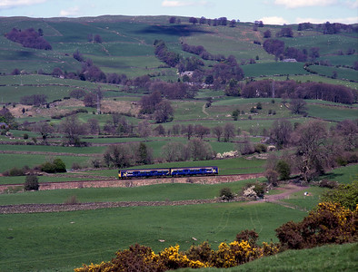 Seen from the A591 near Rather Heath 150145 heads for Windermere 6/5/01.
