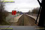 View from the cab of 67020 as the train approaches my home station of Haddenham & Thame Parkway at 14:29 on Wednesday 2nd April 2008. Digital Image No. IMGP4211.
