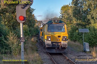 70015, Kenilworth, 4O17, 22nd September 2021