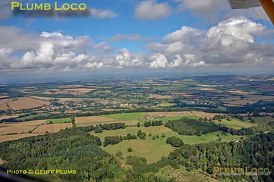 Aerial View, Blockley, 16th September 2021