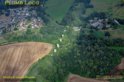 Aerial View, Hook Norton Viaduct, 16th September 2021