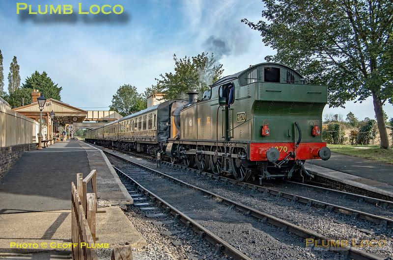 GWR No. 4270, Toddington, 21st September 2021