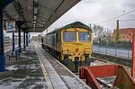 66509, Princes Risborough Platform 1, 0Z66, 8th February 2021