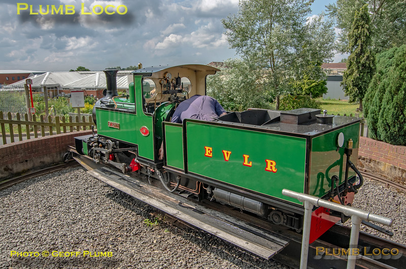 'St. Egwin', EVLR, Twyford, 4th August 2021
