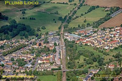 Aerial View, Moreton-in-Marsh, 16thh September 2021