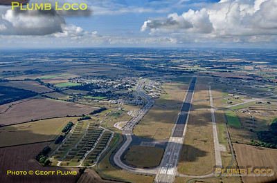 Aerial View, Upper Heyford, 16th September 2021