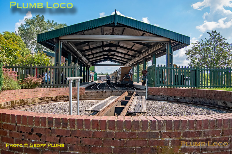 General View, Twyford Station, Evesham Vale Light Railway, 4th August 2021